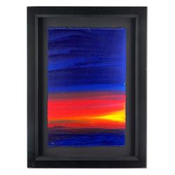 "Wyland, ""Abstract 26"" Hand Signed Original Painting with Certificate of Authenticity."