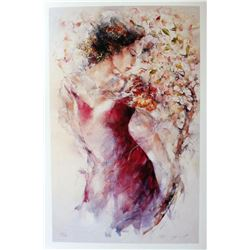 "Gary Benfield ""Flora"" Giclee on Paper"