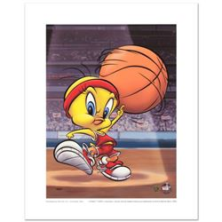 """Roundball Tweety"" Limited Edition Giclee from Warner Bros., Numbered with Hologram Seal and Certifi"