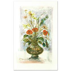 """Amapola"" Limited Edition Lithograph by Edna Hibel (1917-2014), Numbered and Hand Signed with Certif"