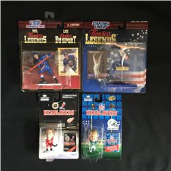 STARTING LINEUP/ HEADLINERS SPORTS FIGURES LOT