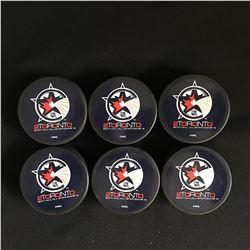 50th NHL ALL-STAR GAME HOCKEY PUCK LOT