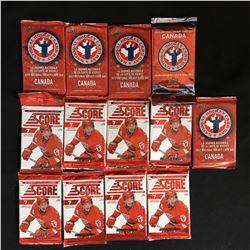 HOCKEY CARD PACKS LOT (2012-13 SCORE...)