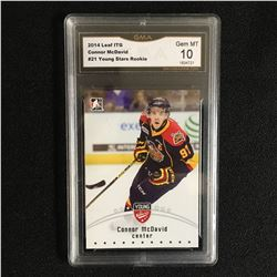 2014 LEAF ITG CONNOR McDAVID #21 YOUNG STARS ROOKIE (GEM MINT 10)