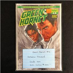 GREEN HORNET #4 (RETAILER REWARD PREMIUM COVER)