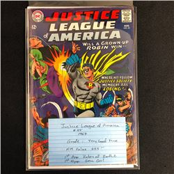 JUSTIC LEAGUE OF AMERICA #55 (DC COMICS) 1967
