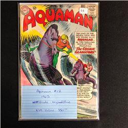 AQUAMAN #12 (DC COMICS) 1963