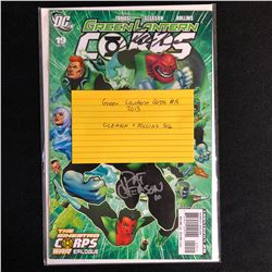 GREEN LANTERN CORPS #19 (DC COMICS) 2013 SIGNED by ROLLINS & GLEASON