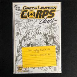 GREEN LANTERN CORPS #15B (DC COMICS) 2013 SIGNED by ROLLINS & GLEASON