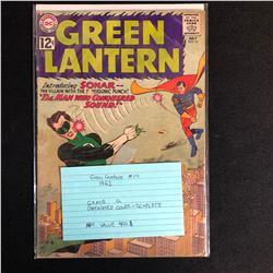 GREEN LANTERN #14 (DC COMICS) 1962