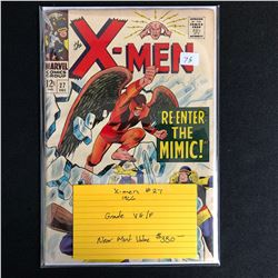 X-MEN #27 (MARVEL COMICS) 1966