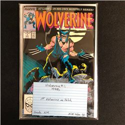 WOLVERINE #1 (MARVEL COMICS) 1988