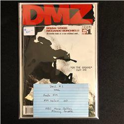 DMZ #1 (VERTIGO COMICS) 2006