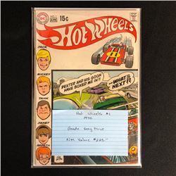 HOT WHEELS #1 (DC COMICS) 1970