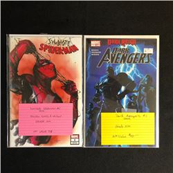 MARVEL COMICS BOOK LOT (SYMBIOTE SPIDER-MAN #1/ DARK AVENGERS #1)