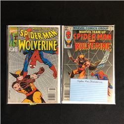 SPIDER-MAN/ WOLVERINE COMIC BOOK LOT (MARVEL COMICS)