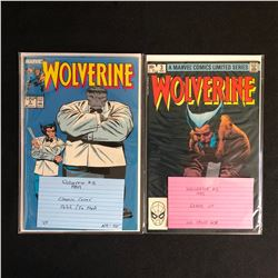 1980s WOLVERINE COMIC BOOK LOT (MARVEL COMICS)