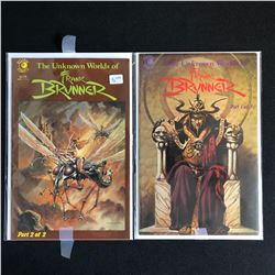 THE UNKNOWN WORLD OF FRANK BRUNNER COMIC BOOK LOT (ECLIPSE COMICS)