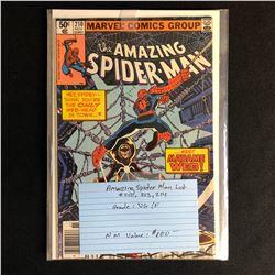 AMAZING SPIDER-MAN COMIC BOOK LOT #210, 213, 214 (MARVEL COMICS)