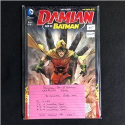 DAMIAN: SON OF BATMAN #1-4 SET (DC COMICS) 2013
