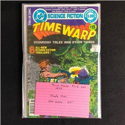 TIME WARP #1-3 SET (DC COMICS) 1979