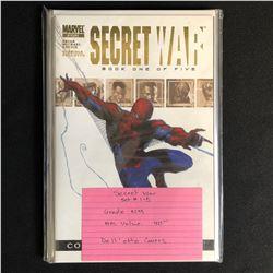 SECRET WAR #1-5 SET (MARVEL COMICS)