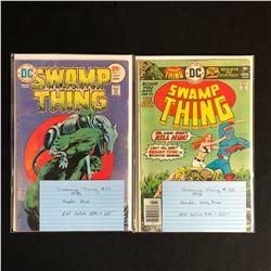 1970s SWAMP THING COMIC BOOK LOT #17/ #23 (DC COMICS)
