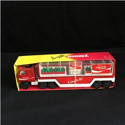 Vintage 1983 Buddy L Coca Cola Trailer Delivery Truck w/ Original Box