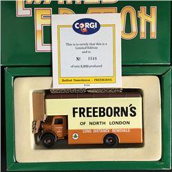 Corgi Classics 81554 Bedford Pantechnicon Freeborns Removals North London Ltd Ed