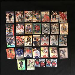 NHL STAR CARD LOT