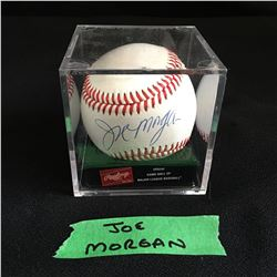 JOE MORGAN SIGNED OFFICIAL GAME USED RAWLINGS BASEBALL