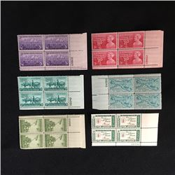 CLASSIC UNUSED AMERICAN STAMPS LOT