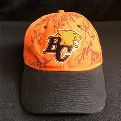BC LIONS MULTI SIGNED BASEBALL HAT