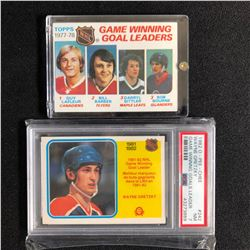 PSA GRADED WAYNE GRETZKY HOCKEY CARD LOT