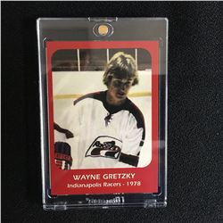 WAYNE GRETZKY INDIANAPOLIS RACERS HOCKEY CARD