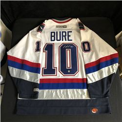 PAVEL BURE SIGNED OFFICIAL CCM CANUCK JERSEY( MA COA)