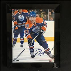 SAM GAGNE SIGNED AND FRAMED 8 X 10 WITH COA