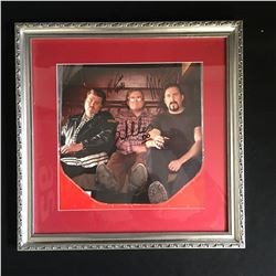 TRIPLE SIGNED TRAILER PARK BOYS FRAMED PHOTO (RICKY, BUBBLES & JULIAN)