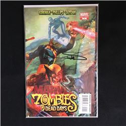 ARTIST ARTHUR SUYDAM SIGNED MARVEL ZOMBIES DEAD DAYS COMIC BOOK
