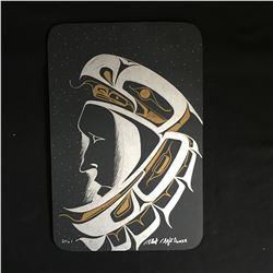"""16 X 20 ORIGINAL SIGNED NATIVE ART ON CANVAS """"EAGLE DANCER"""""""