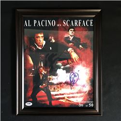 AL PACINO SIGNED SCARFACE LTD EDITION PRINT 30 OF 50 ( PSA COA)