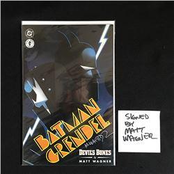 MATT WAGNER SIGNED BATMAN GRENDEL NO.1 DEVILS BONES