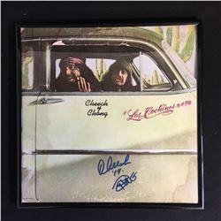 DUAL SIGNED CHEECH AND CONG VINYL LP JSA COA