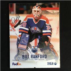BILL RANFORD SIGNED 8 X 10