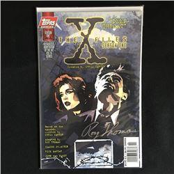 ROY THOMAS SIGNED X FILES NO. 1 COMIC 686/1250