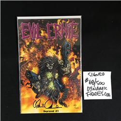BRIAN PULIDO SIGNED EVIL ERNIE NO.1 COMIC 68/500