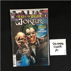 DC YEAR OF THE VILLAIN JOKER STANDARD COVER