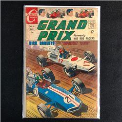 CHARLTON COMICS GRAND PRIX NO. 16