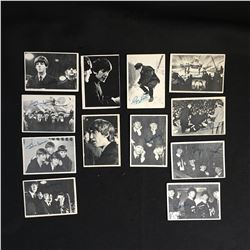 VINTAGE 1960'S TOPPS BEATLES TRADING CARD LOT