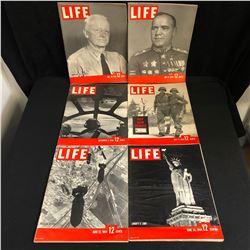 LIFE MAGAZINE LOT 1940S